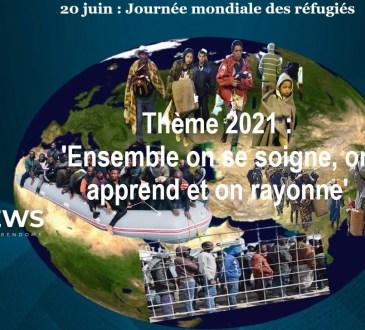 20 juin 2021, 'Journée mondiale des réfugié' et des déplacés