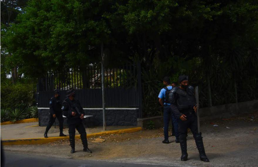 Résidence de Mme Chamorro, dans le sud-est de Managua,