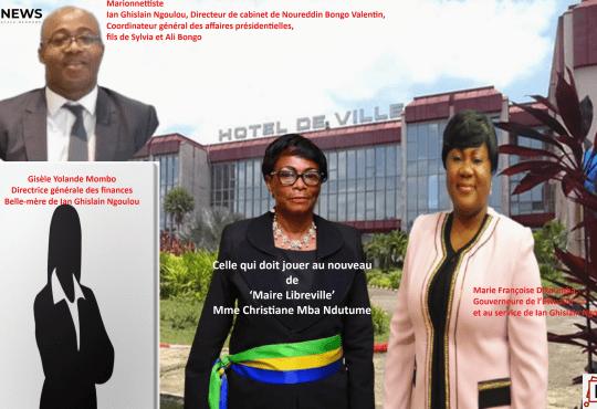 Gabon – 14 juillet 2021- Politique - Christiane N'dutume, épouse Mihindou Ibrahim, désignée Maire de Libreville
