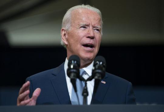 Etats-Unis, visite Joe Biden au Congrès pour défendre son colossal plan d'investissements