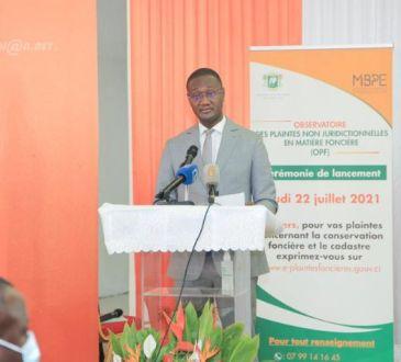 Côte d'Ivoire : Lancement officiel de l`observatoire des plaintes foncières