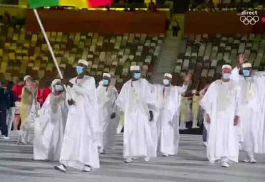 JO Tokyo 2020 : la délégation du Mali prend part à la cérémonie d'ouverture