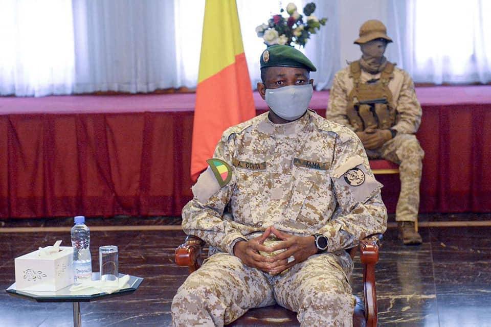 Mali: Tentative d'agressionau couteau contre le colonel Assimi Goïta