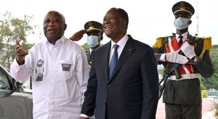 Côte d'Ivoire : Laurent Gbagbo et Alassane Ouattara face à face