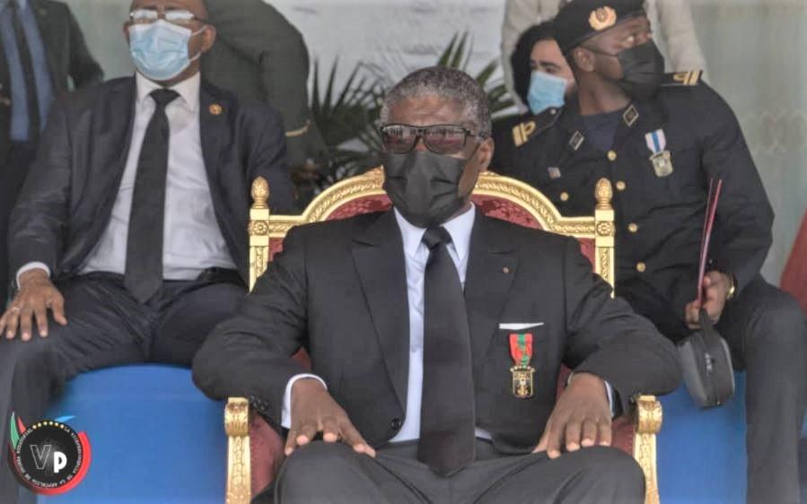 """Guinée équatoriale : commémoration du 42e anniversaire du 3 août 1979, connu sous le nom de """"Coup de la liberté"""" par le vice-président, Teodoro Nguema Obiang Mangue."""