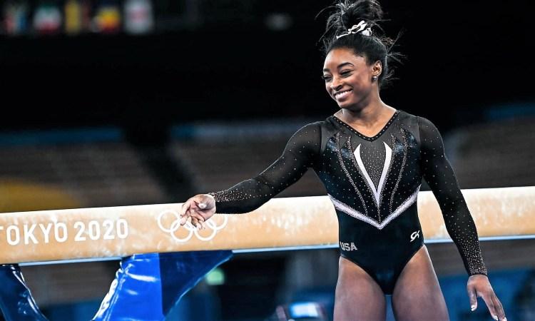 L'américaine Simone Biles, sextuple médaillée olympique