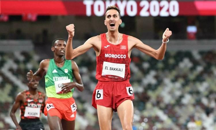 JO 2020 – Soufiane El Bakkali offre une médaille d'or auMarocsur 3.000m steeple