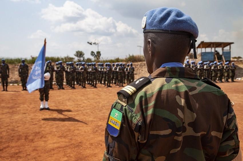 Stabilisation en Centrafrique:Le contingent gabonais lève le camp