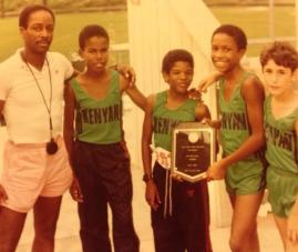 Kenyan Runners track team