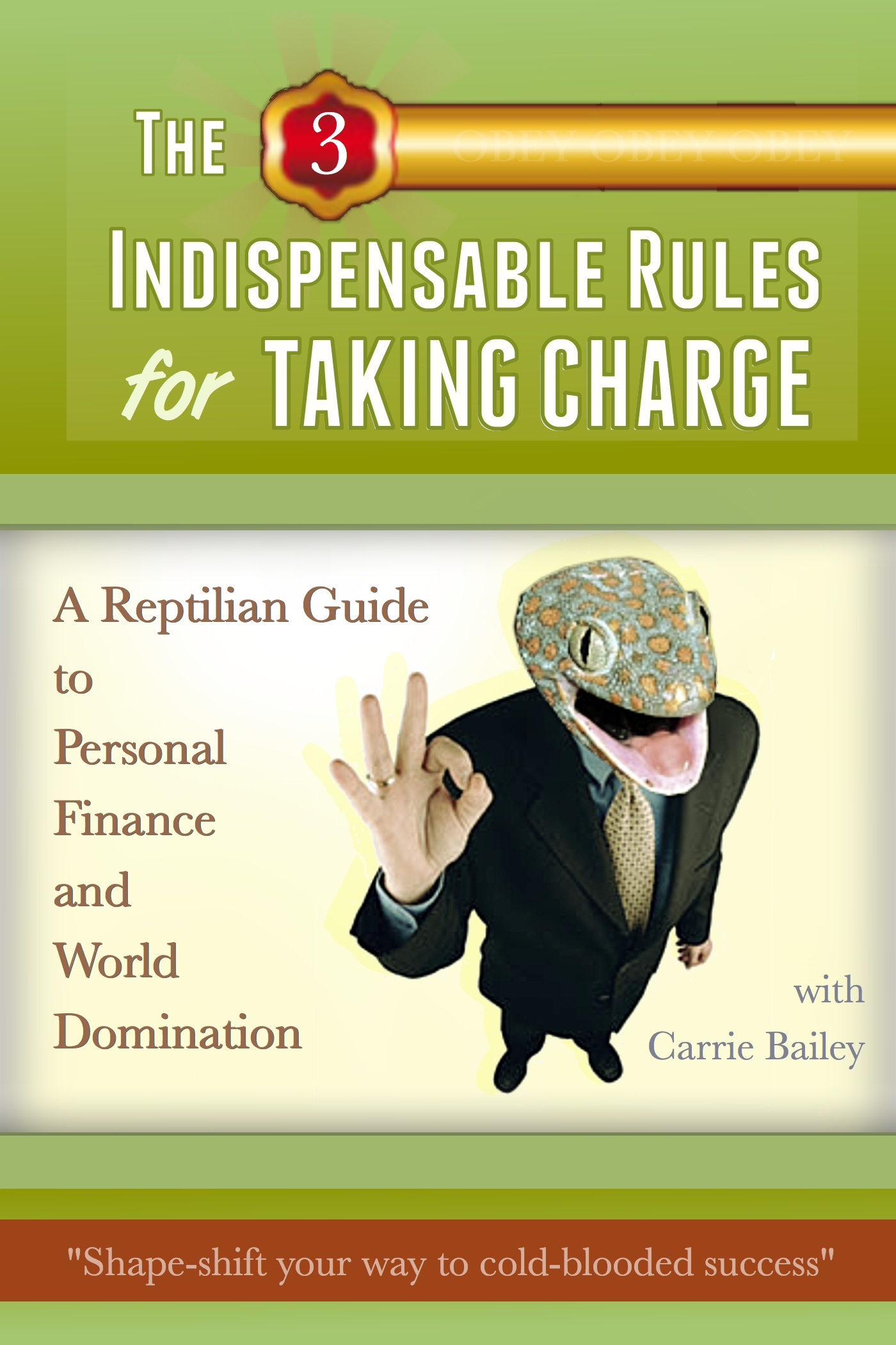 Smashwords The 3 Indispensible Rules For Taking Charge