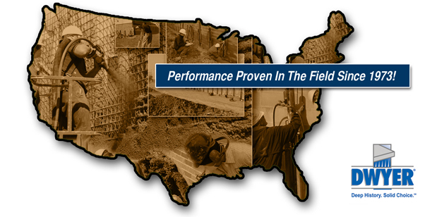 Dwyer Company offers commercial geotechnical structural services across the United States.