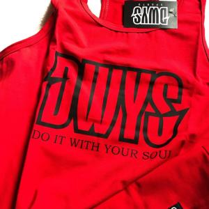 Male Tank Top Red