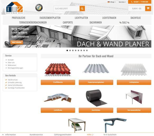 DWZ Shop - Ihr Partner für Dach und Wand Zeven