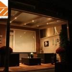 Terrassenüberdachung LED-Spots