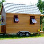 Das kleinste Wohnhaus Deutschlands Seitenansicht