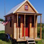 Das kleinste Wohnhaus Deutschlands Vorderansicht