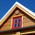 Das kleinste Wohnhaus Deutschlands Firstbereich