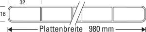Skizze Breitkammer Stegplatte