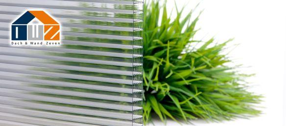Polycarbonat 25mm Stegplatte Glasklar