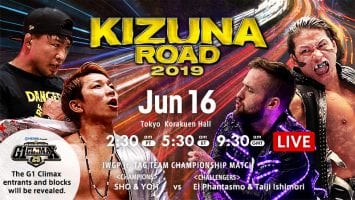 NJPW Kizuna Road 2019 06 16 Tokyo
