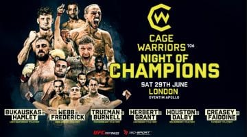 Cage Warriors 106