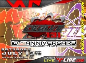 Evolve 131 10Th anniversary special 2019