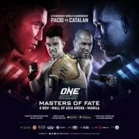 One Championship Masters Of Fate 2019