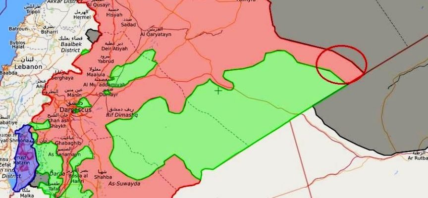 Breaking News: Syrian Army and Hezbollah have reached border with Iraq