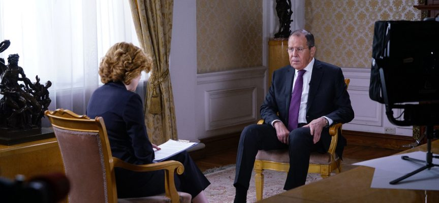 Lavrov's interview for Zvezda network