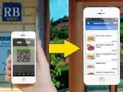 En el smartphone de los clientes mediante la lectura de tu código QR personalizado