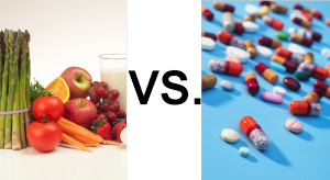 Food vs. Pills