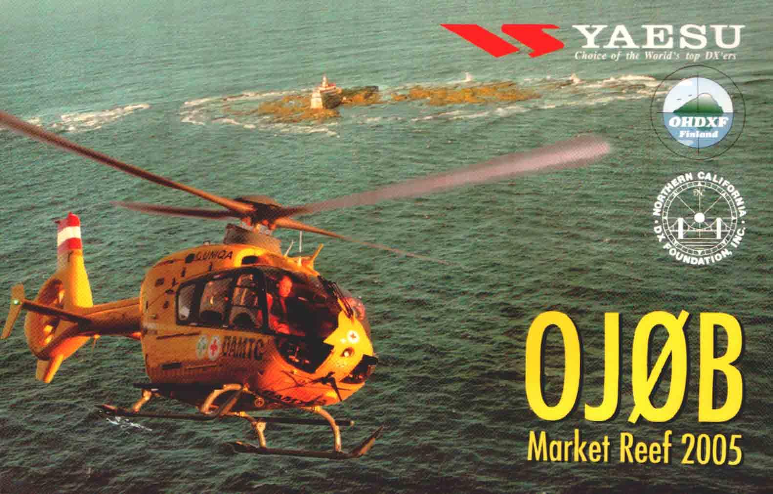 Market Reef OJ0B QSL 2