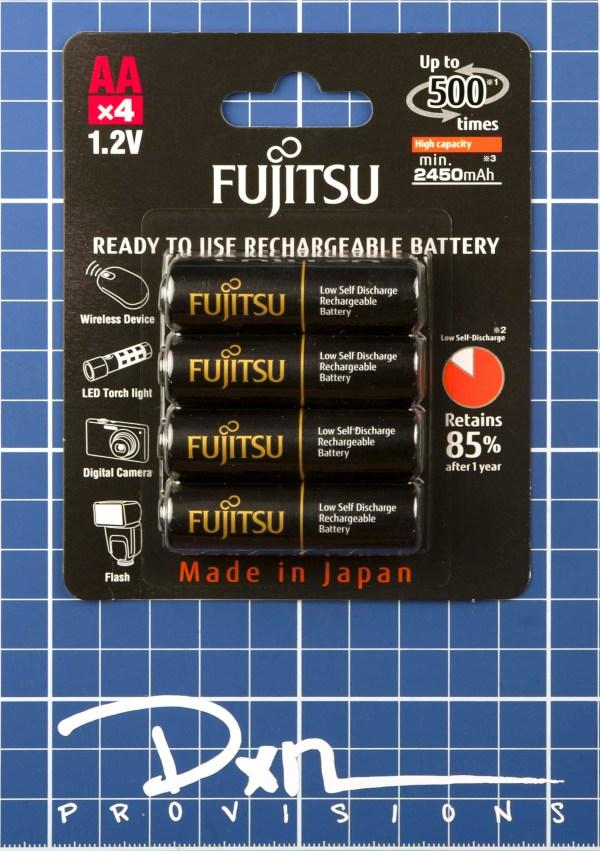 Fujitsu Black 2450mAh