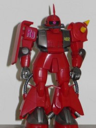 High Complete Model MS-062R-2 Johnny Ridden's Zaku II 1/144 HCM robot loose front