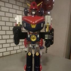 Combattra V DX Godaikin 1982 Popy Chogokin GB-55 Super Robot from anime Cho Denji Robo Combattler V(超電磁ロボ コンバトラーV) from 1976-1977