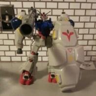 Deluxe Gundam GP-02 Bandai 2001 from anime Stardust Memory Gundam