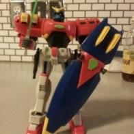 "Maxter Gundam GF13-006NA MSIA 2002 Bandai America 7.5"" - representing Neo America - from anime Kidō Butōden G-Gundam(機動武闘伝Gガンダム) 1994-1995 Item#11362"