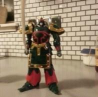 Haow Gundam aka Kowloon Gundam GF13-001NH representing Neo Hong Kong 2002 - from anime Kidou Butouden G Gundam(機動武闘伝Gガンダム)from 1994-1995