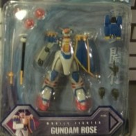 MSIA Gundam Rose(玫瑰高达) GF13-009NF Bandai 2002 Neo France Cartoon Network #11304 from anime (機動武闘伝Gガンダム)Kidou Butouden G Gundam 1994-1995