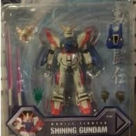 "Shining Gundam GF13-017NJ 2002 MSIA Bandai America 4.5"" Item #11301 from anime (機動武闘伝Gガンダム)Kidou Butouden G Gundam 1994-1995 representing Neo Japan piloted by Domon Kasshu(ドモン・カッシュ)"
