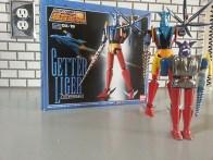 Getter Liger GX-19 Bandai Soul of Chogokin 2003 Getter Robo G from anime Getta Robo G (Japanese), Jet Robot (Italian), Robo Formers, Starvengers, ゲッターロボG (Japanese), 게타로보 (Korean)