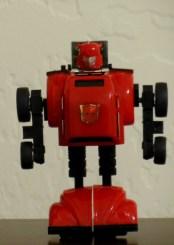 Bumblebee Red Generation 1 Autobot 1984 Mini Vehicle Hasbro G1