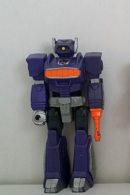 Transformers Shockwave Action Masters 1989 Hasbro Decepticons front side of loose figure