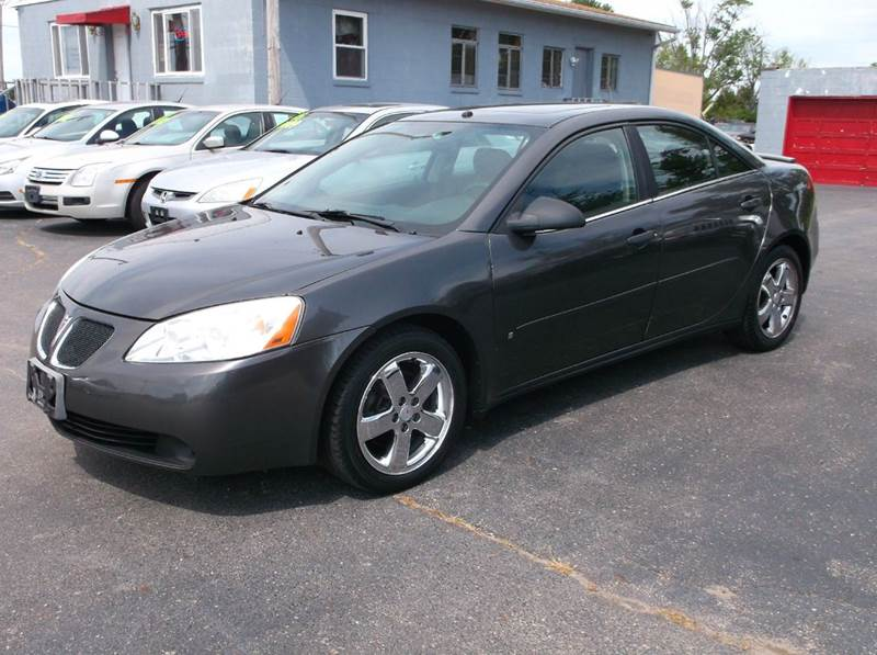 Pontiac G6 Gt Sedan Black Wheels Chrome