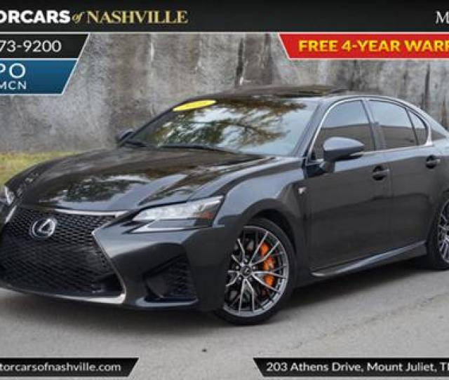 Lexus Gs F For Sale In Mount Juliet Tn
