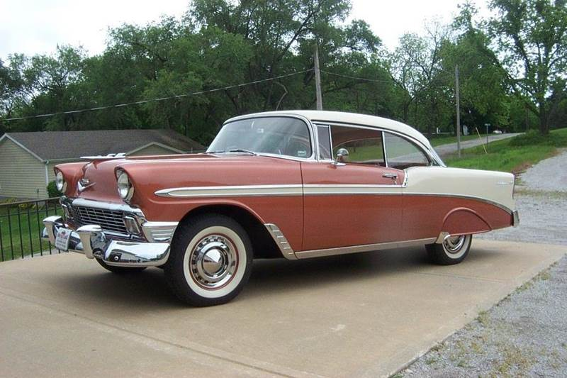 1956 Chevrolet Bel Air 2 dr HT For Sale   All Collector Cars 1956 Chevrolet Bel Air 1
