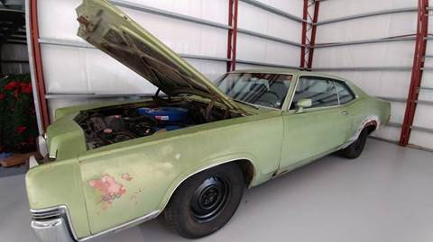 Used 1969 Mercury Marauder For Sale   Carsforsale com     1969 Mercury Marauder for sale in Williston  FL