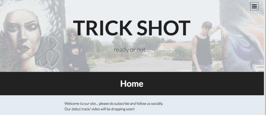 Wordpress blog for Trickshot