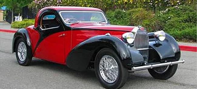 Bugatti Type Atalante sigortamnet - Classic car brands and models
