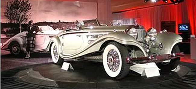 Mercedes Benz Special Roadster sigortamnet - Classic car brands and models